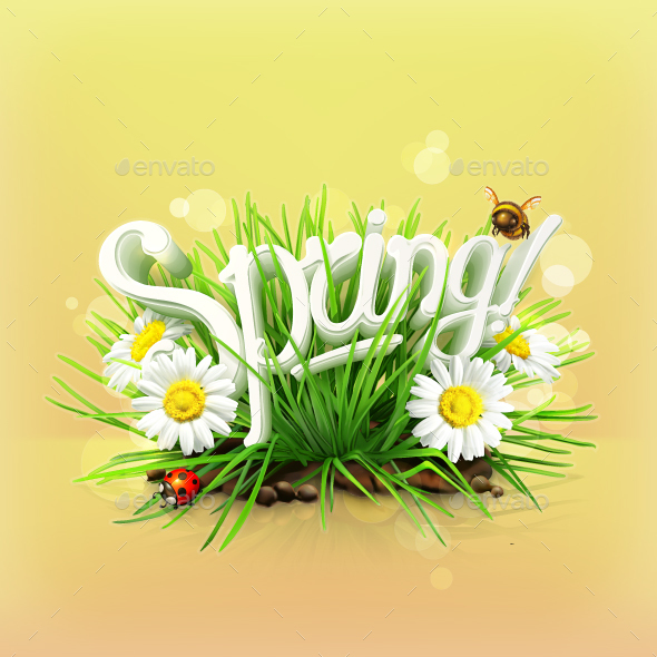 Spring Background - Seasons Nature