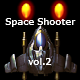 2D Space Shooter vol.2 - GraphicRiver Item for Sale