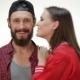 Hipster Girl Kiss Bearded Man - VideoHive Item for Sale