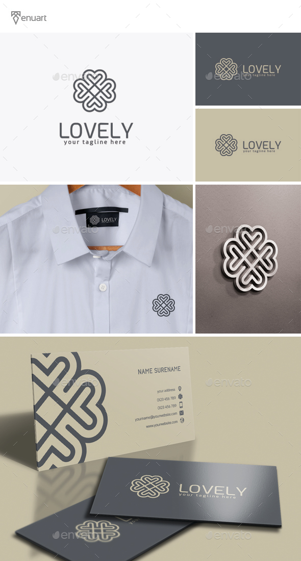 Lovely Logo - Crests Logo Templates