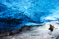 Glacier ice cave of Iceland - PhotoDune Item for Sale