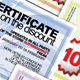 Certificate On The Discount - GraphicRiver Item for Sale