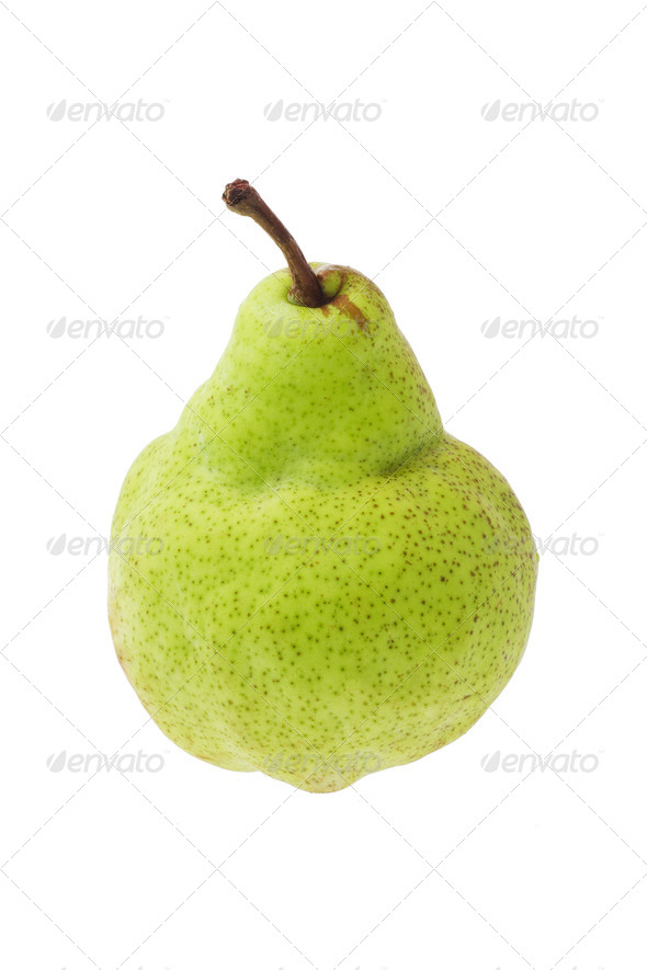 Green pear - Stock Photo - Images