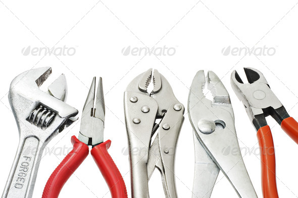 Do-it-yourself tools - Stock Photo - Images