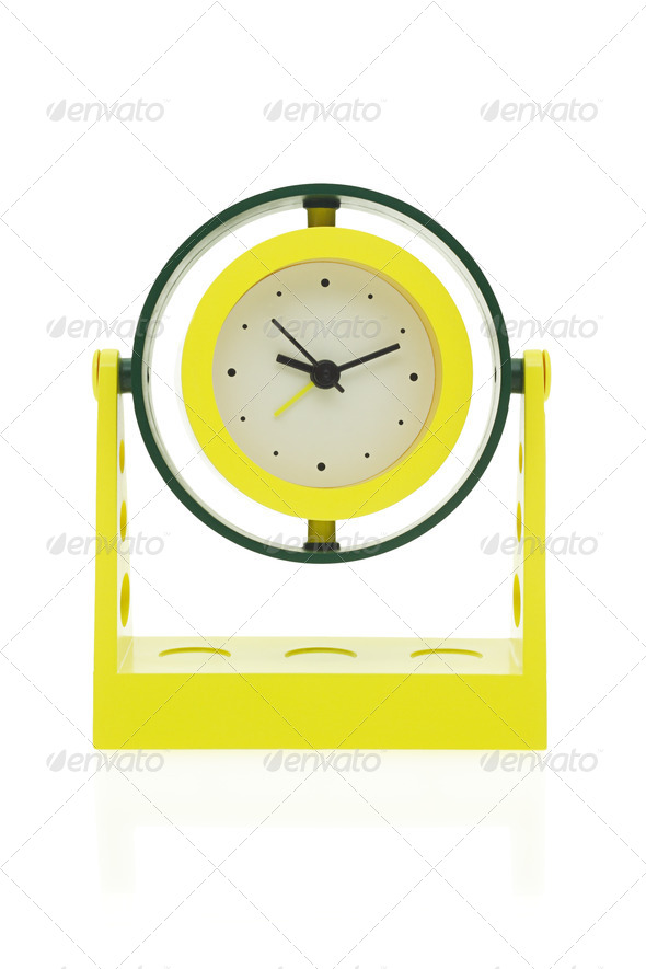 Electronic alarm clock - Stock Photo - Images