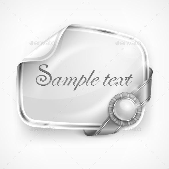 White Sticker - Food Objects