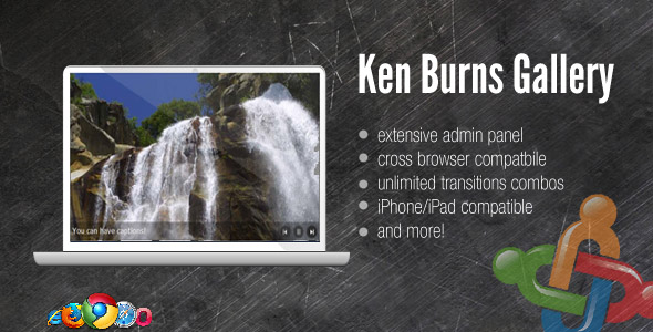 DZS Ken Burns Gallery /w Admin Panel - For Joomla Nulled Scripts