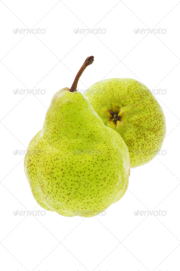 Fresh pears - Stock Photo - Images