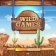 Loading Screen With Title For a Wild West Game - GraphicRiver Item for Sale