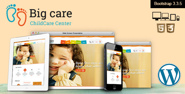 Big Care – Child Care & Shop WordPress Theme
