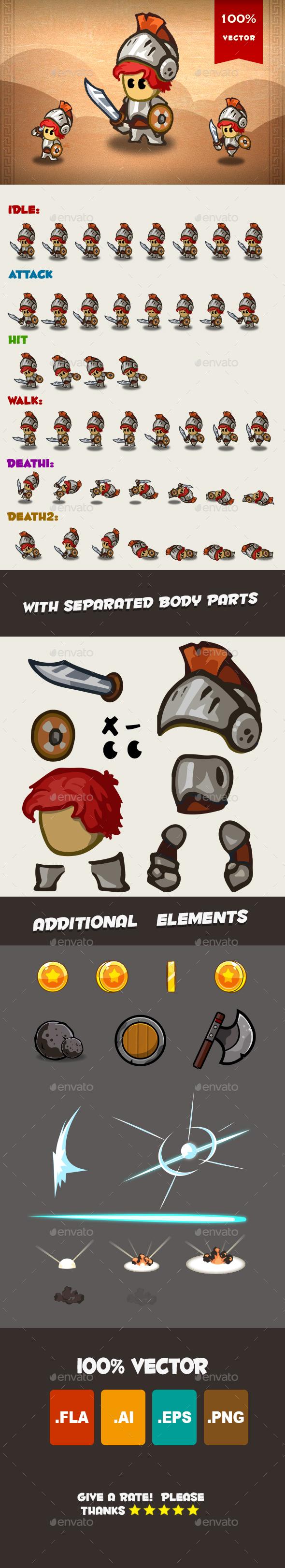 Knight Spritesheet 02 - Sprites Game Assets