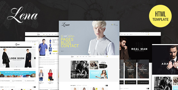 Lena – Fashion Template HTML5