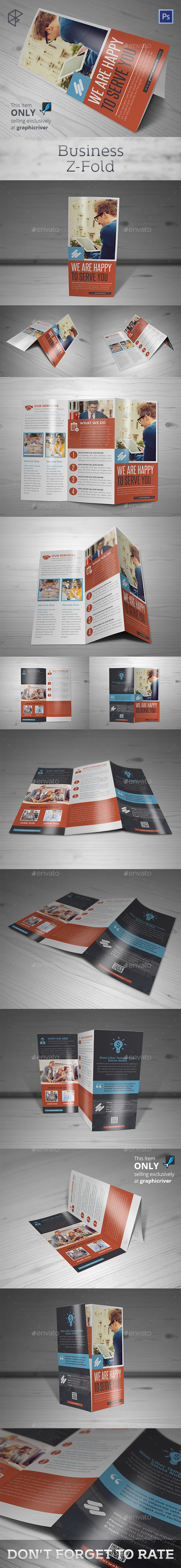 Business Z-Fold - Corporate Brochures