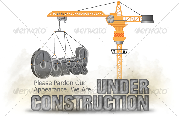 Under Construction Graphic - Miscellaneous Web Elements