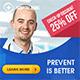 Hospital Health Web Banner - GraphicRiver Item for Sale