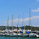 Boats In Harbor - VideoHive Item for Sale