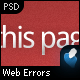Web Errors Pack - 404, 401, 403, 500, 503 - GraphicRiver Item for Sale