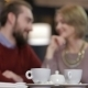 Two Young People In Cafe Enjoying The Time - VideoHive Item for Sale