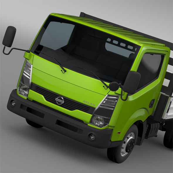 Nissan Atlas Chassi Tipper 2015 - 3DOcean Item for Sale