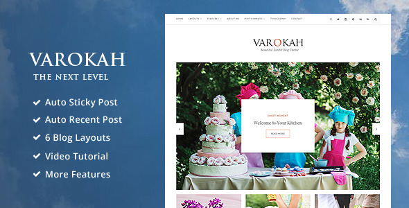 Varokah – Personal Tumblr Blog Theme