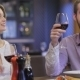 Collaborative Romantic Dinner In a Restaurant - VideoHive Item for Sale
