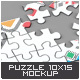 Puzzle 15 Pieces Mock-Up - GraphicRiver Item for Sale