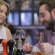 Beautiful Couple Having Romantic Dinner At - VideoHive Item for Sale