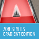 208 Photoshop Styles - Gradient Edition - GraphicRiver Item for Sale