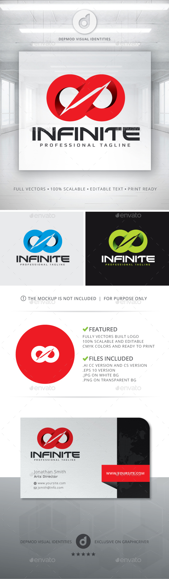 Infinite V.02 Logo - Symbols Logo Templates