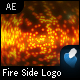 Fire Side Logo Reveal - AE CS3 Project File - VideoHive Item for Sale