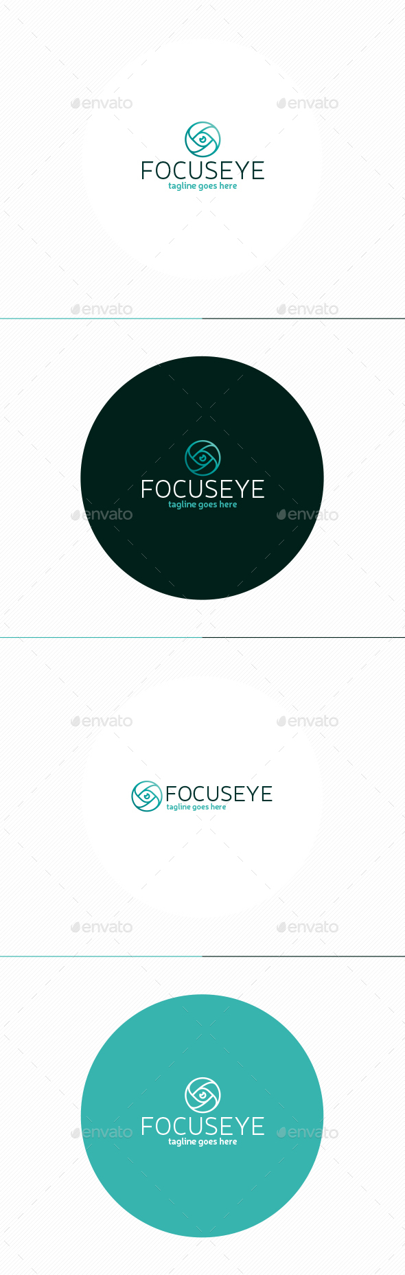 Focus Eye Logo - Objects Logo Templates