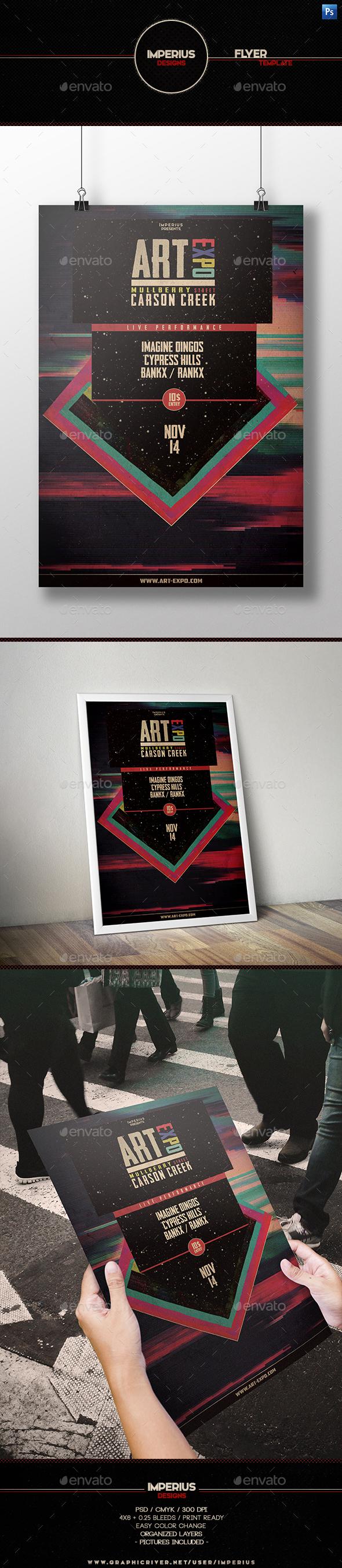 Art Expo Flyer - Events Flyers