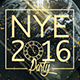 X3 NYE Minimal Party | Psd Poster Template  - GraphicRiver Item for Sale