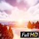 Winter Mountains Sunrise Above Fir-trees - VideoHive Item for Sale