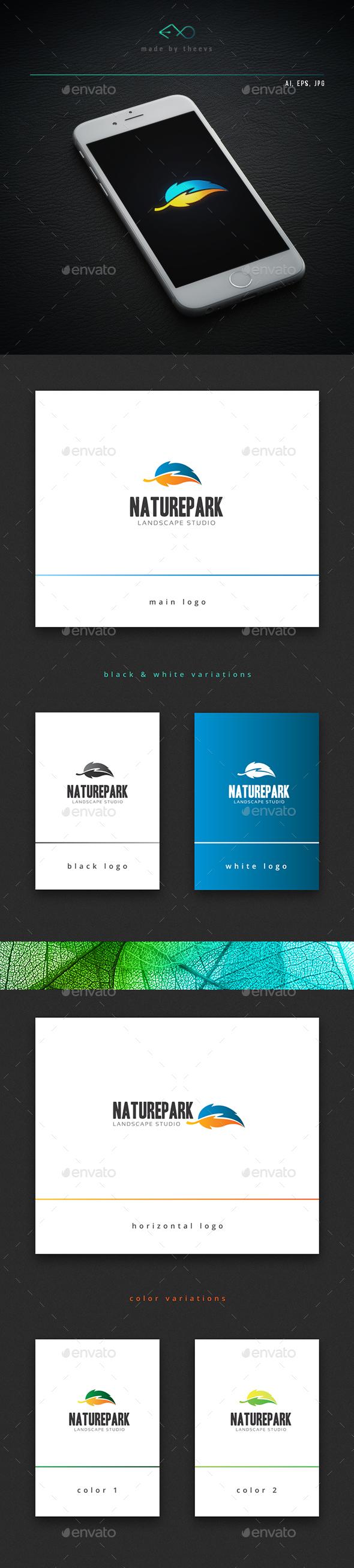Naturepark - Nature Logo Templates