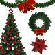 14 Realistic Christmas Decoration Set - GraphicRiver Item for Sale
