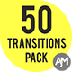 50 Alpha Matte Transitions Pack - VideoHive Item for Sale