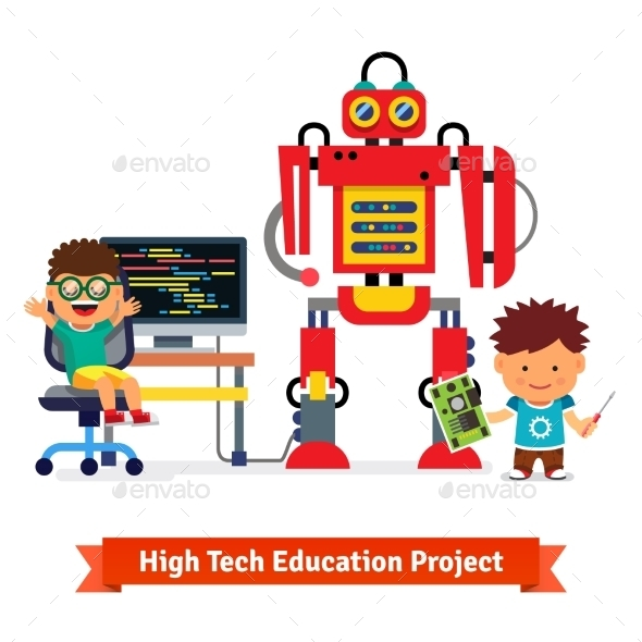 Kids Making and Programming Robot - Miscellaneous Conceptual