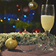 Wineglass And Pouring Sparkling Wine - VideoHive Item for Sale