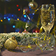 Glass Of Wine In The Christmas Night 1 - VideoHive Item for Sale