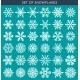 Set 36 White Different Snowflakes - GraphicRiver Item for Sale