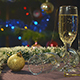 Glass Of Wine In The Christmas Night 2 - VideoHive Item for Sale