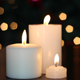 Three Christmas Candles - VideoHive Item for Sale