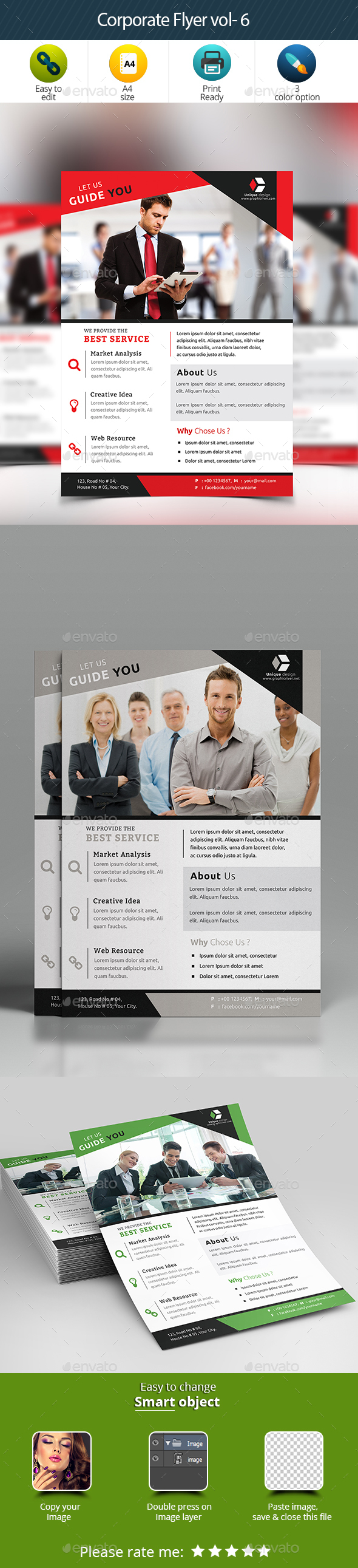 Corporate Flyer Vol- 6 - Corporate Flyers