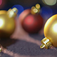 Red And Gold Christmas Ball - VideoHive Item for Sale