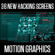 36 New Hacking Screens - VideoHive Item for Sale