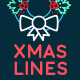 Xmas Lines Greeting Card - VideoHive Item for Sale