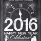 Chalk New Years Eve Party Flyer - GraphicRiver Item for Sale