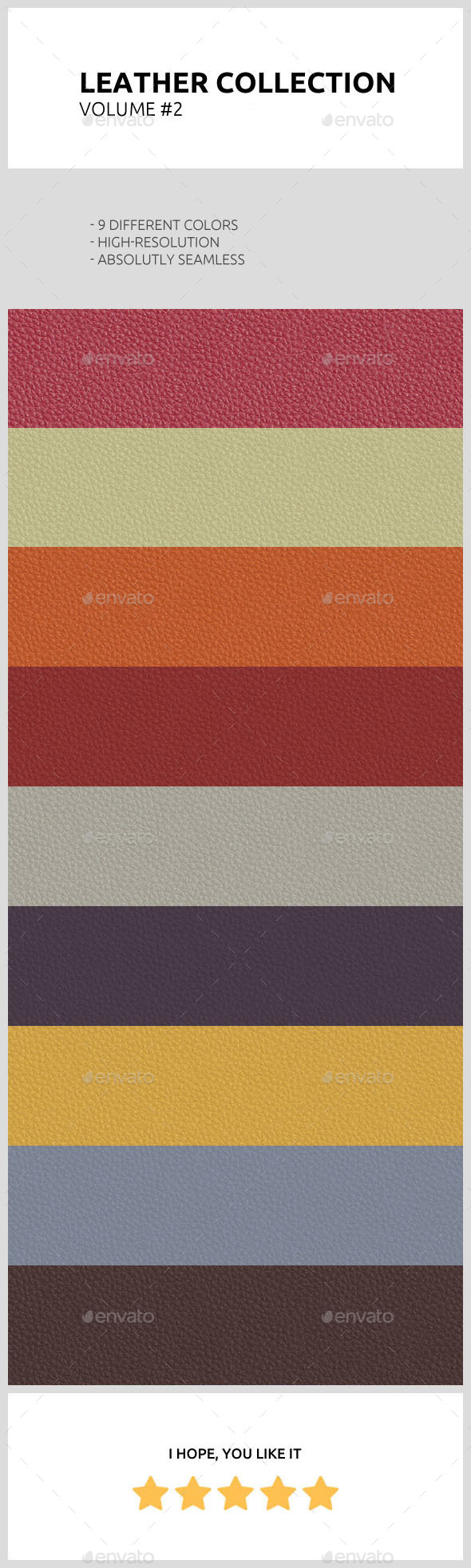 Leather Collection: Volume #2 - Fabric Textures
