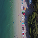 People on the Beach Aerial 2 - VideoHive Item for Sale